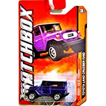 Matchbox 2012 Toyota Land Cruiser FJ40 Purple #68/120 by Matchbox