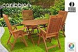 Sitzgruppe Belmont Gartenset Sitzgarnitur Holz Gartenmöbel Gartengarnitur Tisch