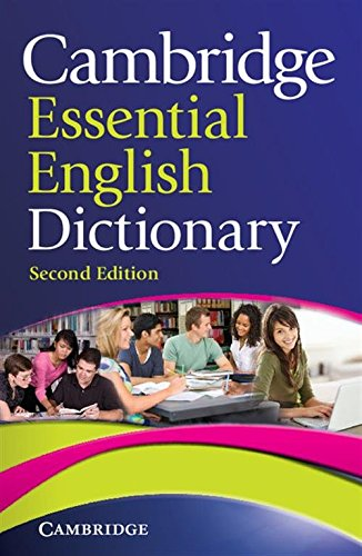 Cambridge Essential English Dictionary 2nd Paperback (Cambridge Essential Eng Dictio) por SIN AUTOR