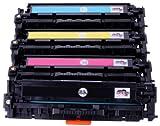Premium 4x Toner ersetzt Canon i-Sensys LBP-7100 / LBP-7110, MF-8230 / MF-8280 (731) (BK,C,Y,M)