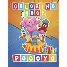 POCOYO Coloring Book: 48 Awesome Illustrations for Kids