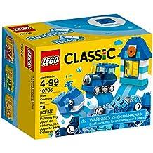 LEGO Classic - Caja creativa de color azul (10706)