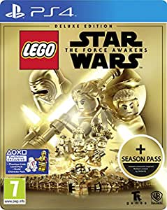 LEGO Star Wars: The Force Awakens Deluxe Steelbook Edition with Season Pass (Exclusive to Amazon.co.uk) (PS4)