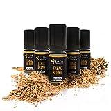 Vaps'Premium - E-liquide Tabac Blond - 5 x flacons de 10 ml - 00 mg - Sans nicotine ni tabac