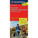 Eichstätt - Mittleres Altmühltal - Weißenburg in Bayern: Fahrradkarte. GPS-genau. 1:70000 (KOMPASS-Fahrradkarten Deutschland, Band 3103)