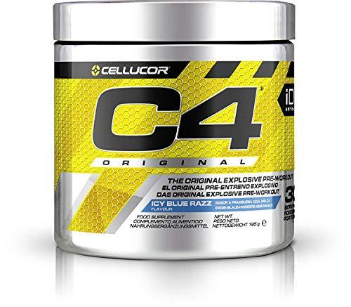 Cellucor C4 Originale Pre-Workput Booster Trainingsbooster Bodybuilding 195g (Pink Lemonade)
