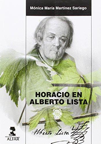 Horacio en Alberto Lista (Alfar Universidad)