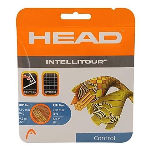 Head Unisex Intellitour Tennis String Set Hybrid Strings Racket Tuning Rip Tech