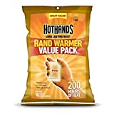 HotHands Hand Warmers (Up to 10 Hours Heat)-10 Pairs Plus 4-Free Cura-Heat Back Patches by HeatMax