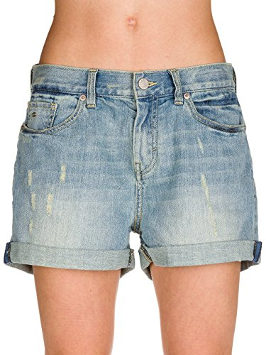 O 'Neill Boyfriend Shorts Damen 32 vintage blue wash