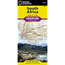 Südafrika: NATIONAL GEOGRAPHIC Adventure Maps (Adventure Map (Numbered))