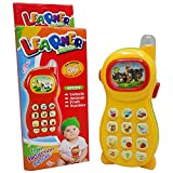 #10: FunBlast™ Learning Mobile Phone Toy for Toddlers and Kids with Image Projection (Random Color)