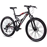 "CHRISSON 26"" Zoll ALU MTB Mountainbike Fahrrad EMOTER Fully Unisex"