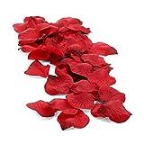 Pétalos de Rosa Rojos / Artificiales y Perfumables / Ideales para crear un Ambiente Romántico y...