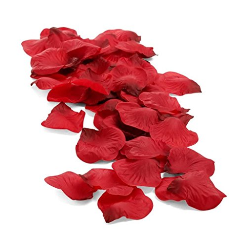 Pétalos de Rosa Rojos / Artificiales y Perfumables / Ideales para cre