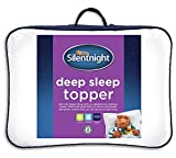 Best Matress Toppers - Silentnight Deep Sleep Mattress Topper, White, Double Review