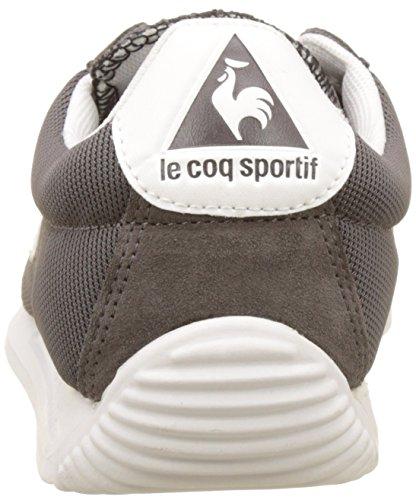 Le Coq Sportif Unisex-Erwachsene Quartz Nylon Trainer Low Grau (Dark Gull Gray)