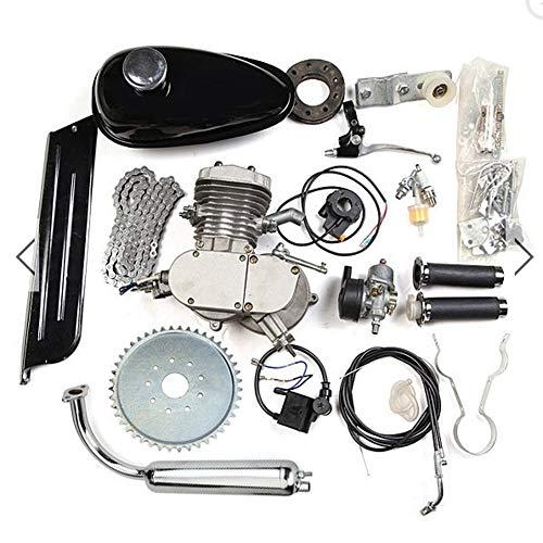 HWENK Fahrrad Motor Kit, 80Cc 2-Takt Motor Motor Mountainbike Upgrade Set für motorisierte Fahrrad Push Bike (Motorisierte Fahrrad-kit)