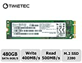 Timetec HP Enterprise Micron IC 480GB M.2 2280 SATA 6Gb/s Internal SSD(MTFDDAV480MBF)