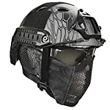 Airsoft Paintball Hard Hat - Casque ABS Casque La Chasse De Loisirs Militaire Unisexe...