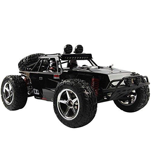 HUKOER High-Speed 2.4G RC Auto Fernbedienung Stunt-Auto-Rennen mit Allradantrieb Nutzfahrzeug Sport Full-Scale 1:12 Kinderspielzeugauto Kindergeschenk - 15 Auto Rc 1 Scale