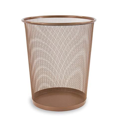 Unbekannt Osco Abfalleimer aus Netzstoff Rosegold(30 cm)