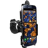 mumbi Système de fixation sur guidon Samsung Galaxy S4 de Vélo / Moto - sécurité totale en portrait / paysage