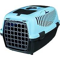 Pet Believe Capri Pet Carrier, Pastel Blue (22x15x13 Inches).