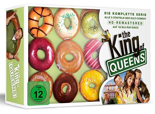 The King of Queens-HD Gesamtbox -Donut Edition (18 Blu-rays) (exklusiv bei Amazon.de)