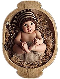 Gorro de crochet Binlunnu para bebé 2b25e0e5597