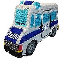 Pinata Polizei Mannschaftswagen L: 57 cm, B:16 cm, H: 39 cm