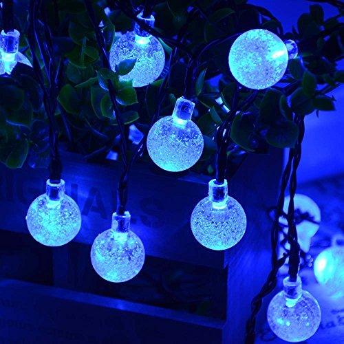 lederTEK-20ft-30-LED-Crystal-Globe-Christmas-String-Lights