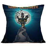 Halloween Kissenbezüge JYJM Heißer verkaufender Halloween-Kissenbezug für Hauptdekoration (G)