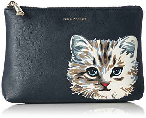 Paul & Joe SisterCosmetic pouch - Beauty Case Donna , Blu (Blau (003)), 24x17x5 cm (B x H x T)