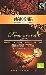 Naturata Cacao Noble Leger 20 Degrés 22% de Matières Grasses Bio  125 g