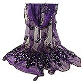 SUNNOW® 16 Colors Women's Fashion Soft Scarf Long Scarfs Flower Printed Scarves Shawl Wrap