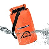 Lantoo Waterproof Dry Bag - 15L Wet Dry Bags Pack with 2 Zippered