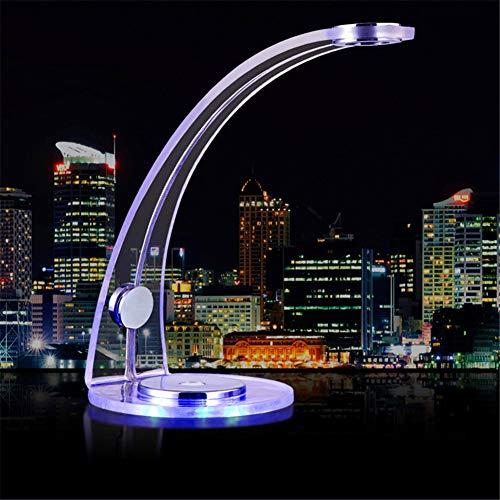 LED Atmosphäre Lampe Ganzkörper-Acryl Touch Control Dimmbar Eye-Pflege Tischlampe Einfache Und Stilvolle Bogen Design Home Decoration Night Light