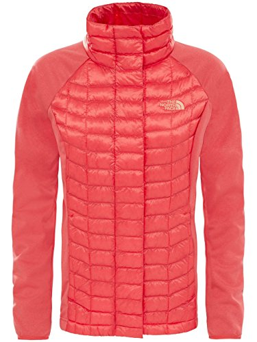 Damen Outdoor Jacke THE NORTH FACE Thermoball Hybrid Outdoorjacke cayenne red