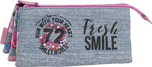 Portatodo Tres Compartimentos Smiley 72