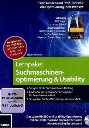 Lernpaket Suchmaschinenoptimierung/Usability
