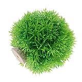 non-brand Sharplace Piante Acquatiche Acquatico Decorazione Plastica Vegetali Forniture PET Complimenti Ornamento Auario Elegante - Verde, Piccolo