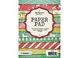 Sescha Designpapier/Motivblock Weihnachten Motiv: 96/170 g/m² / 36 Blatt mit 12 Motiven