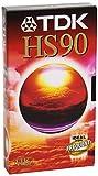 TDK E 90 HS/E/D Video Cassette - Confezione da 1