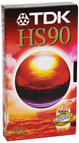 TDK E 90 HS/E/D Video Cassette Confezione da 1