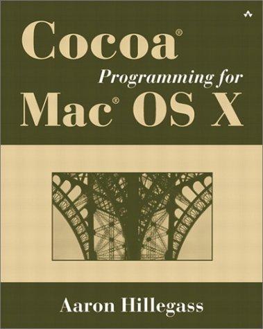 Portada del libro Cocoa Programming for Mac OS X by Aaron Hillegass (2001-12-03)
