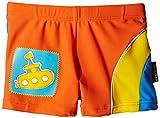 Elemar Badehose - Slip de baño para niño, color naranja, talla 104 cm