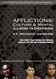 Afflictions: Culture & Mental Illness in Indonesia, V.1: Psychotic Disorders by Robert Lemelson