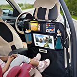 Accessories Best Deals - Aomaso Kick Mats 2-Pack with Multi-pocket Organizer, Seat Back Covers for Car, SUV, Minivan or Truck Seats, Auto Accessory and Protector for Kids