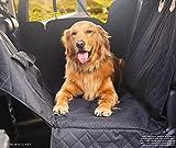 LHMY Seggiolino Auto per Animali Domestici, Portatile Antiscivolo Impermeabile e rispettoso dell'ambiente Car Pad con Cintura di Sicurezza di trazione Adatto per Auto Camion SUV,Withear